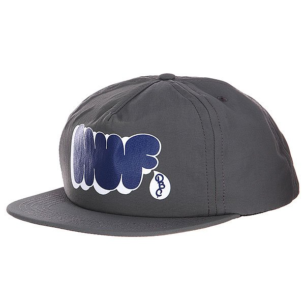 Бейсболка Huf Bubbles Snapback Gray