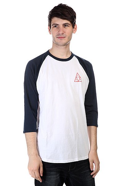 �������� Huf Triple Triangle Raglan White