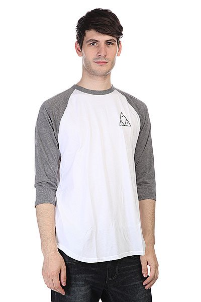 Лонгслив Huf Triple Triangle Raglan Gray Heather