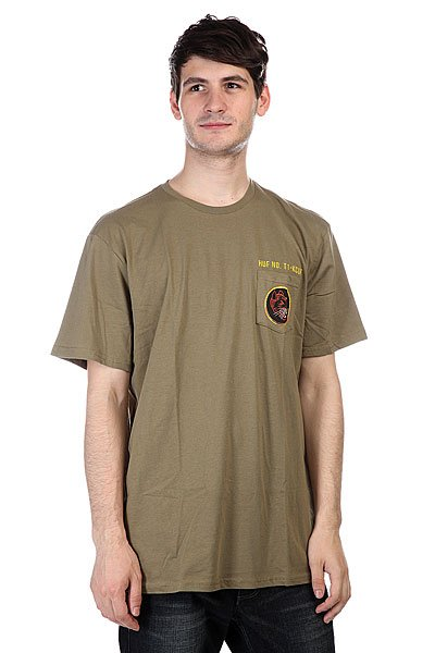 Футболка Huf Todd Francis Ratallion Pocket Tee Military francis bacon