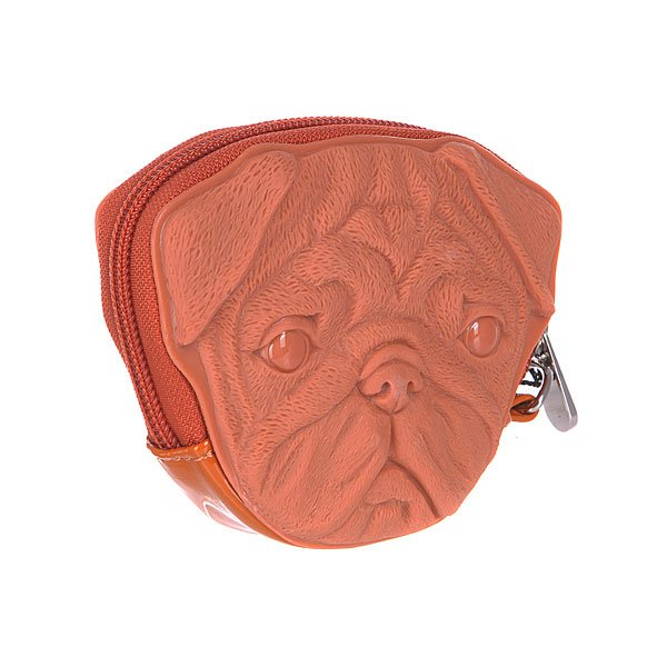 Сумка женская Adamo 3d Pug Dog Light Brown
