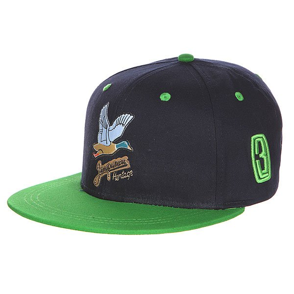 ��������� ��������� ���� Logo Navy/Green