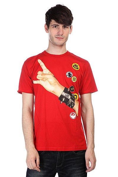 футболка-dragon-horns-slim-fit-dark-red