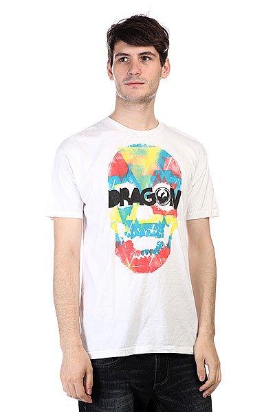Футболка Dragon Tri Skull Df S11 Ss White