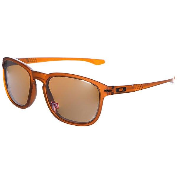 Очки женские Oakley Enduro Matte Dark Amber/Tungsten Iridium Poalrized
