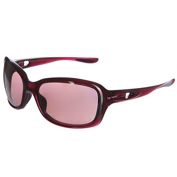 Очки женские Oakley Urgency Crystal Raspberry /Oo Grey Polarized