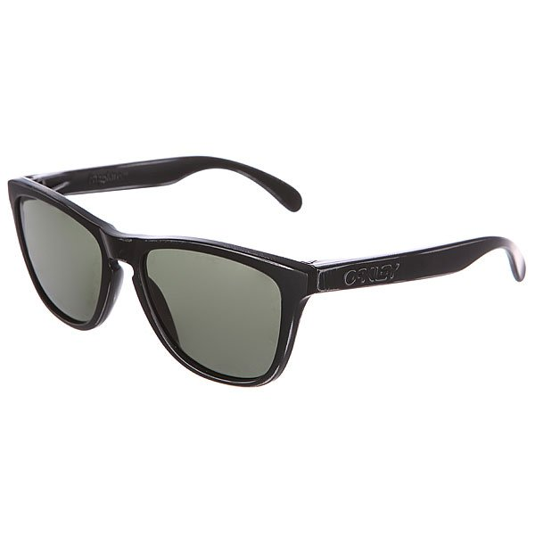 Очки Oakley Frogskin Black Decay/Dark Grey