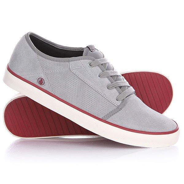 Кеды кроссовки низкие Volcom Grimm Shoe Grey Combo