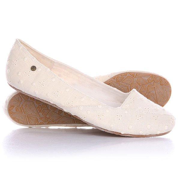 Балетки женские Volcom Game On Shoe Off White
