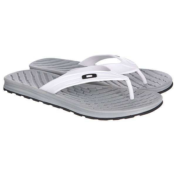 Шлепанцы Oakley Shorebreak White/Grey