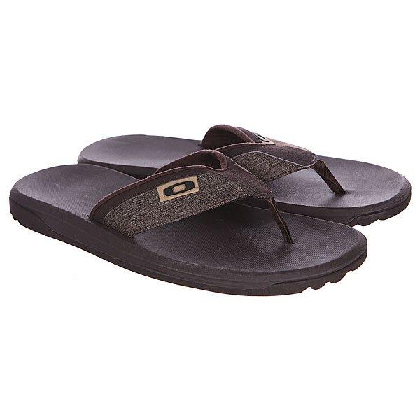 Шлепанцы Oakley Beachcomber Brown<br><br>Цвет: коричневый<br>Тип: Вьетнамки<br>Возраст: Взрослый<br>Пол: Мужской