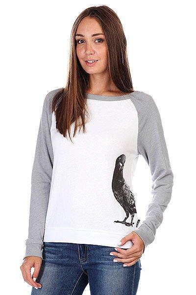 Толстовка Zoo York Bird Sock Grey Heather<br><br>Цвет: серый,белый<br>Тип: Толстовка классическая<br>Возраст: Взрослый