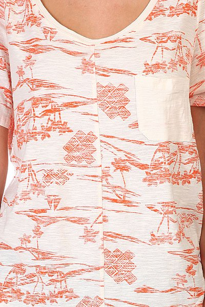 Футболка женская Roxy Royal Palms New Islands Aur от Proskater