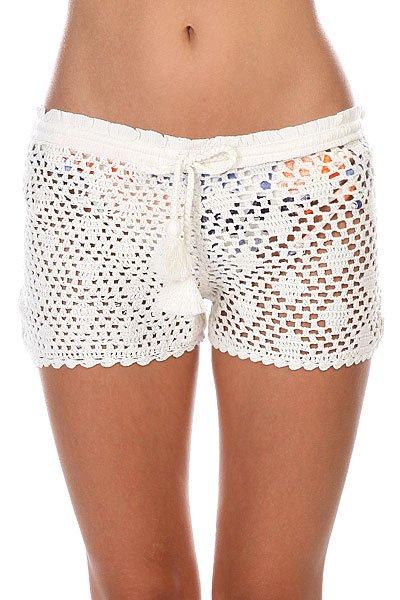Шорты женские Roxy Sand Doll Short Sand Dollar Crochet<br><br>Цвет: белый<br>Тип: Шорты<br>Возраст: Взрослый<br>Пол: Женский