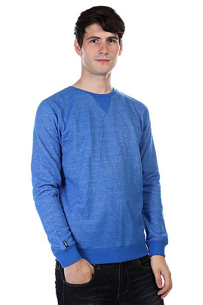 Толстовка Globe Fairfax Crew Royale Blue<br><br>Цвет: голубой<br>Тип: Толстовка свитшот<br>Возраст: Взрослый<br>Пол: Мужской