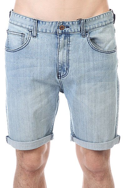 Шорты классические Globe Goodstock Denim Walkshort Slate