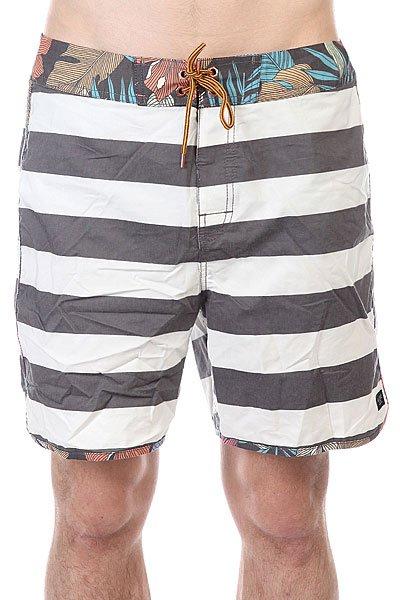Шорты пляжные Globe Calypso Boardie Vint BlackДанная модель не имеет внутренней подкладки в виде сеточки<br><br>Цвет: белый,серый<br>Тип: Шорты пляжные<br>Возраст: Взрослый<br>Пол: Мужской