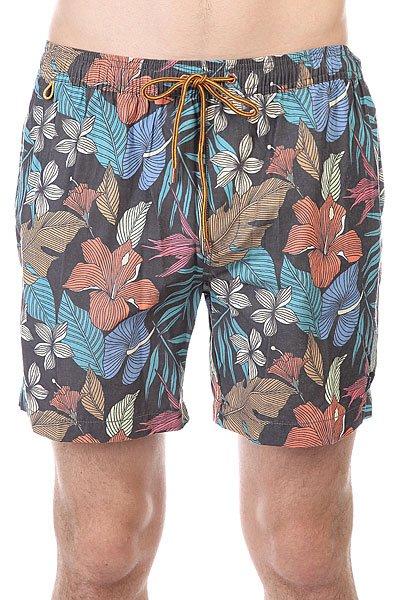 Шорты пляжные Globe Quest Poolshort FloralДанная модель не имеет внутренней подкладки в виде сеточки<br><br>Цвет: мультиколор<br>Тип: Шорты пляжные<br>Возраст: Взрослый<br>Пол: Мужской