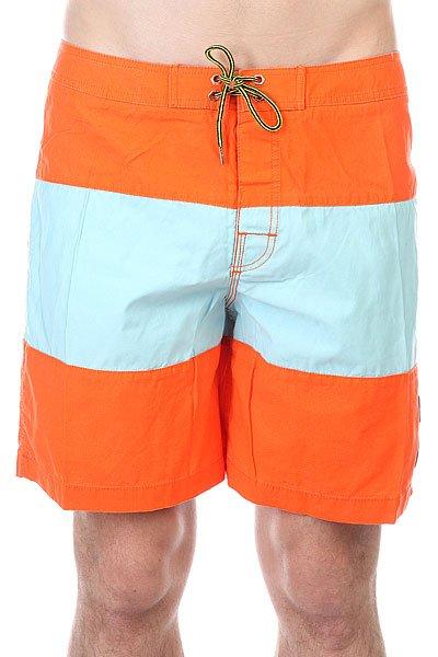 Шорты плжные Globe Strange Rumblings Boardshort CaribbeanДанна модель не имеет внутренней подкладки в виде сеточки<br><br>Цвет: оранжевый,голубой<br>Тип: Шорты плжные<br>Возраст: Взрослый<br>Пол: Мужской