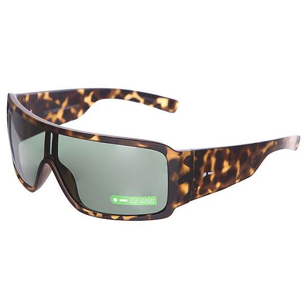 Очки Dot Dash Chalube Tort Satin/Retro GreyОчки из коллекции Locker Room - плоские очки в спортивном стиле.Технические характеристики: Оправа из  поликарбоната.Прочные линзы из поликарбоната.Защита от ультрафиолетовых лучей 100% UV 400.Петли из закаленной стали.<br><br>Цвет: коричневый,черный<br>Тип: Очки<br>Возраст: Взрослый<br>Пол: Мужской