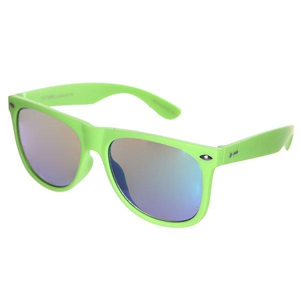 Очки Dot Dash Kerfuffle LimeОчки из коллекции Vintage - игривое отражение прошлого.Технические характеристики: Оправа из  поликарбоната.Прочные линзы из поликарбоната.Защита от ультрафиолетовых лучей 100% UV 400.Интегрированные пластиковые спортивные петли.<br><br>Цвет: зеленый<br>Тип: Очки<br>Возраст: Взрослый<br>Пол: Мужской