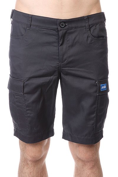 ����� Skills Cargo Shorts 2 Dark Grey