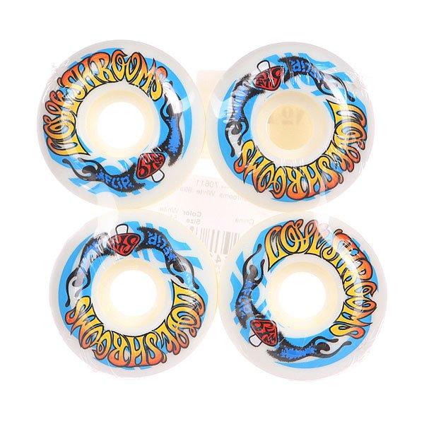 Колеса для скейтборда для скейтборда Flip Love Shrooms White/Multicolor 99A 54 mmДиаметр: 54 mm    Жесткость: 99A    Цена указана за комплект из 4-х колес<br><br>Цвет: белый,мультиколор<br>Тип: Колеса для скейтборда