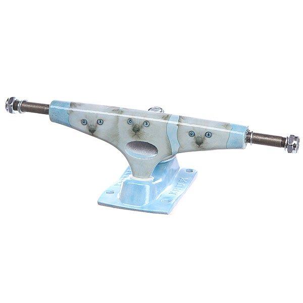 Подвеска для скейтборда 1шт. Krux Forged Meeowzers Standard Blue 8.25 (21 см)Ширина подвесок: 8.25 (21 см)    Высота подвесок: 55 мм    Цена указана за 1 шт    Минимальное количество для заказа 2 шт<br><br>Цвет: голубой<br>Тип: Подвеска для скейтборда