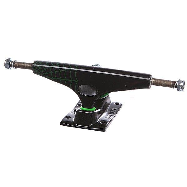 Подвеска для скейтборда 1шт. Krux Creature Black 8 (20.3 см)Ширина подвесок: 8 (20.3 см)    Высота подвесок: 55 мм    Цена указана за 1 шт    Минимальное количество для заказа 2 шт<br><br>Цвет: черный<br>Тип: Подвеска для скейтборда