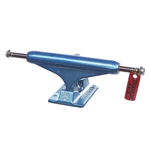 Купить со скидкой Подвеска для скейтборда 1шт. Independent Forged Titanium Blue 5.5 (21 см)
