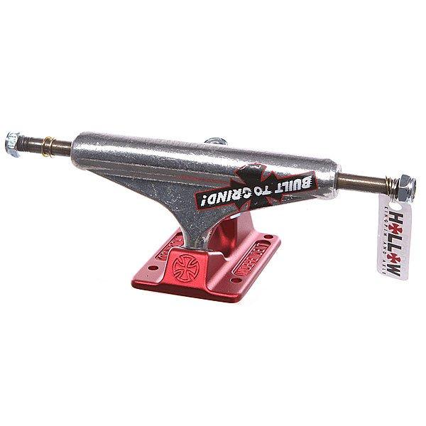 Подвеска для скейтборда 1шт. Independent Forged Hollow Btg Polished Red  5.125 (20 см)Ширина подвесок: 5.125 (20 см)    Высота подвесок: 53.5 мм      Цена указана за 1 шт    Минимальное количество для заказа 2 шт<br><br>Цвет: серый,бордовый<br>Тип: Подвеска для скейтборда