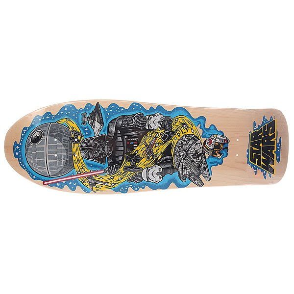Дека для скейтборда для лонгборда Santa Cruz Star Wars Vader Neptune Natural 10.2 X 31 (78.7 См)