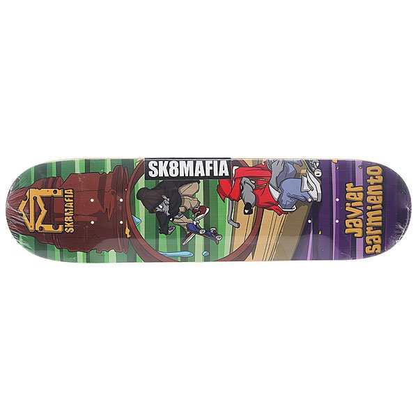 Дека для скейтборда для скейтборда Sk8mafia Sarmiento Sk8rats Multi 31.75 x