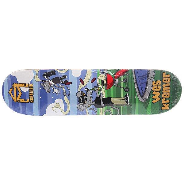 Дека для скейтборда для скейтборда Sk8mafia Kremer Sk8rats Multi 32.12 x 8.25 (21 см) дека для скейтборда для скейтборда sk8mafia james gamer 32 multi 32 x 8 0 20 3 см