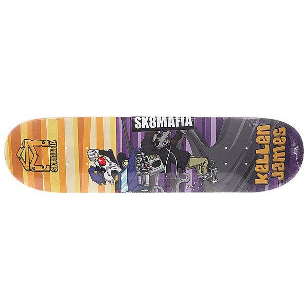 Дека для скейтборда для скейтборда Sk8mafia James Sk8rats Multi 32 x 8.0 (20.3 см) дека для скейтборда для скейтборда sk8mafia james gamer 32 multi 32 x 8 0 20 3 см