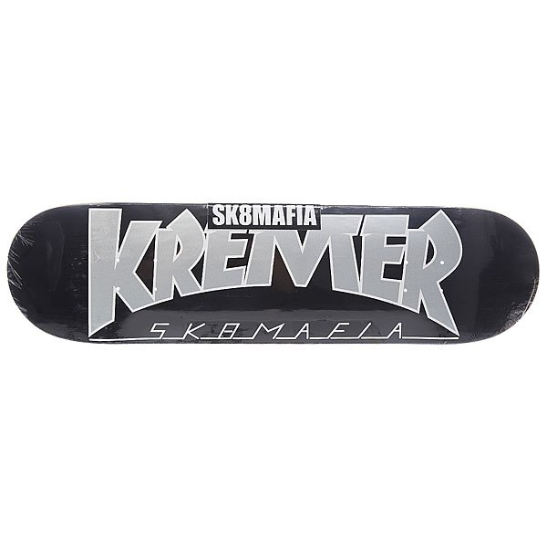 Дека для скейтборда для скейтборда Sk8mafia Kremer Soty! Black 32.12 x 8.25 (21 см) дека для скейтборда для скейтборда sk8mafia james gamer 32 multi 32 x 8 0 20 3 см