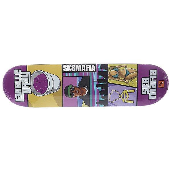 Дека для скейтборда для скейтборда Sk8mafia Gamer Gray 32.12 x 8.25 (21 см)Ширина деки: 8.25 (21 см)    Длина деки: 32.12 (81.6 см)    Количество слоев: 7Высокое качество материалов и универсальная конструкция обеспечат вам комфортное катание и длительный щелчок.Технические характеристики:  Дека из 7-слойного клена. Форма: стандарт. Направленность: street.<br><br>Цвет: мультиколор<br>Тип: Дека для скейтборда
