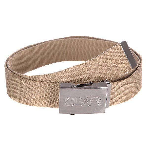 Ремень CLWR Belt CamelТекстильный ремень с фирменным логотипом иудобной металлической пряжкой – мастхэв стильного гардероба.Характеристики:Прочный стреп.Металлический наконечник и пряжка. Фирменный логотип на пряжке.<br><br>Цвет: бежевый<br>Тип: Ремень<br>Возраст: Взрослый<br>Пол: Мужской
