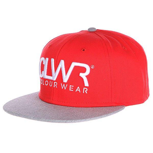 Бейсболка CLWR Cap Red<br><br>Цвет: красный,серый<br>Тип: Бейсболка с прямым козырьком<br>Возраст: Взрослый