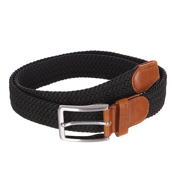 Ремень CLWR Flex Belt BlackРемень премиум качества на долгие годы надежной службы, а плетение добавит внешнему виду яркого стиля.Характеристики:Плетеный стреп. Металлическая пряжка.Кожаные наконечники и петли.<br><br>Цвет: черный<br>Тип: Ремень<br>Возраст: Взрослый<br>Пол: Мужской