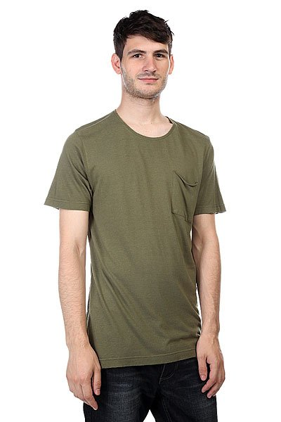 Футболка Element Lexington Army<br><br>Цвет: зеленый<br>Тип: Футболка<br>Возраст: Взрослый<br>Пол: Мужской