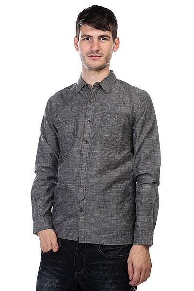 Рубашка Element Mercer Ls Gray<br><br>Цвет: серый<br>Тип: Рубашка<br>Возраст: Взрослый<br>Пол: Мужской