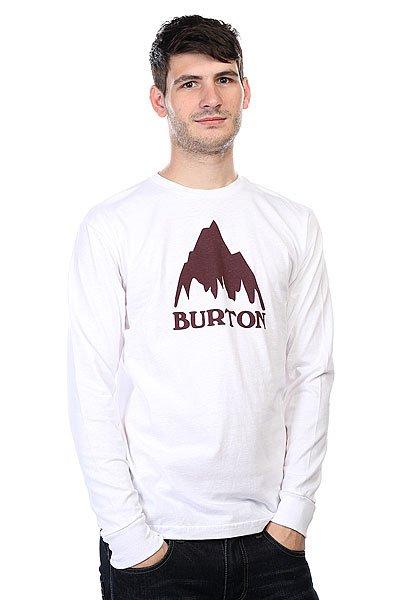 Лонгслив Burton Mns Classic Mtn Ls Stout White