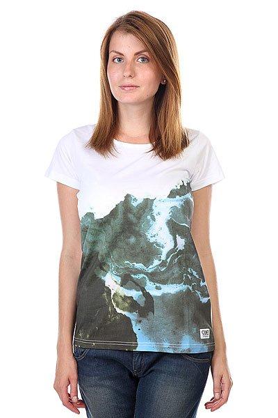 Футболка женская CLWR Artist Tee Marble Print футболка clwr clwr cl003ewtqu55