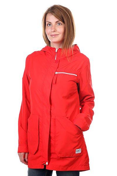 Куртка парка женская CLWR Bridge Parka Poppy Red