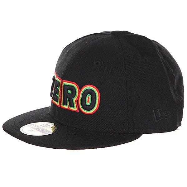 Бейсболка New Era Zero Bold BlackБейсболка New Era Zero, выполненная в классическом стиле, надежно защитит вашу голову от солнца.Характеристики: Шесть панелей. Широкий козырек.  В передней части – вышивка-логотип.<br><br>Цвет: черный<br>Тип: Бейсболка с прямым козырьком<br>Возраст: Взрослый