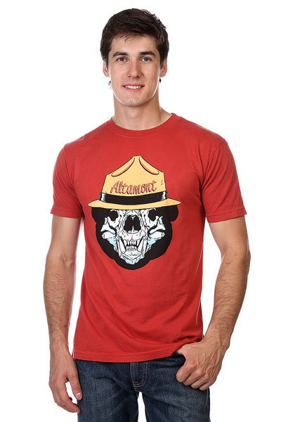 Футболка Altamont Bear Ranger Cardinal<br><br>Цвет: бордовый<br>Тип: Футболка<br>Возраст: Взрослый<br>Пол: Мужской