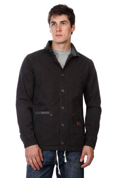 Куртка Altamont Salman Shirt Jacket Black altamont salman shirt jacket black