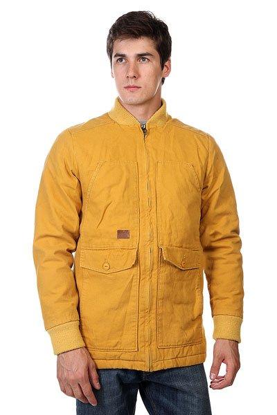 Куртка Altamont Steader Jacket GoldЯркая удлиненная куртка Altamont Steader Jacket Gold. Благодаря утепленной подкладке, а также плотному воротнику и рукавам, Вам будет уютно и тепло даже в хмурые осенние дни.Технические характеристики: Подкладка - фланель.Воротник-стойка.Два накладных кармана для рук на пуговице.Потайной карман на пуговице.Застежка - молния.Фасон - стандартный (regular fit).<br><br>Цвет: коричневый<br>Тип: Куртка<br>Возраст: Взрослый<br>Пол: Мужской