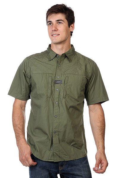 Рубашка Zoo York Enew15 Commando Fatigue<br><br>Цвет: зеленый<br>Тип: Рубашка<br>Возраст: Взрослый<br>Пол: Мужской